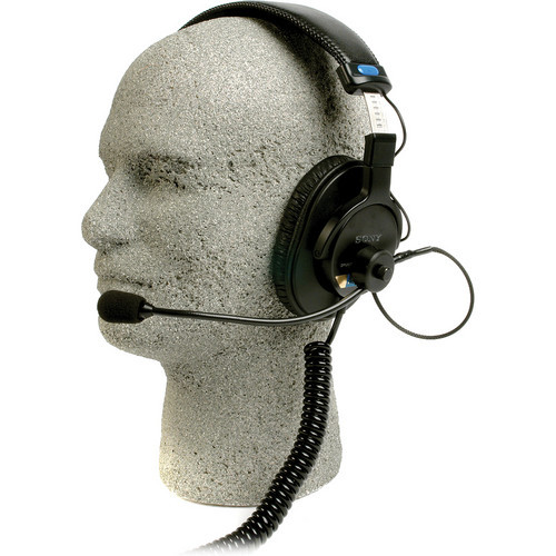 Remote Audio BCSHSEBC Communication Headset with Electret Boom Mic