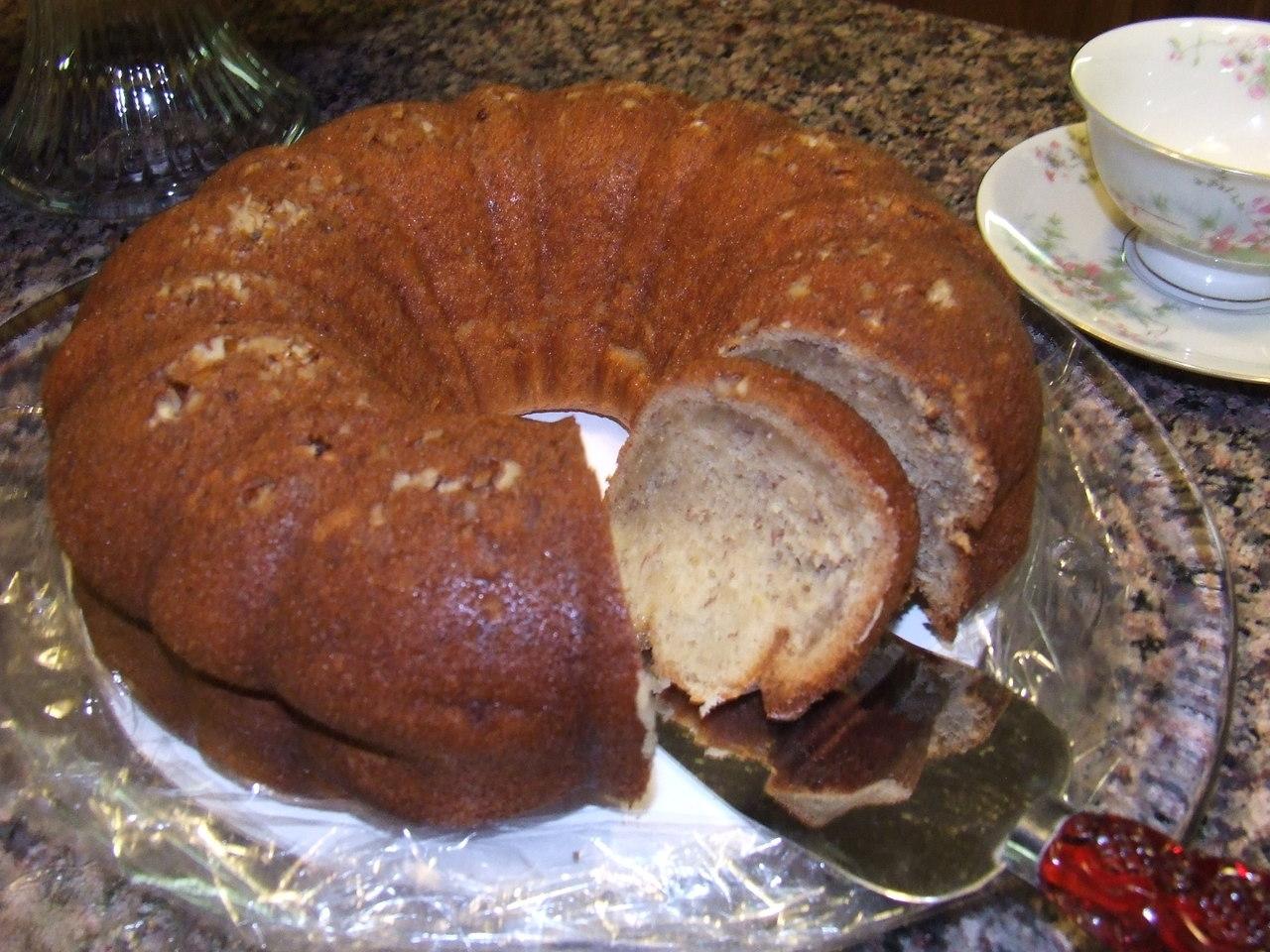 Rum Raisin Rum Cake
