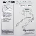 IMAGE Treadmill 17.0R User's Manual 233535