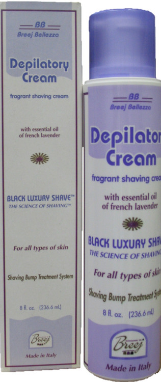 This pleasantly fragranced and elegant silky depilatory cream containing the essential oil of French lavender gently softens coarse facial hair for easy removal with a multi-blade razor leaving your skin soft, smooth and free of shave bumps.