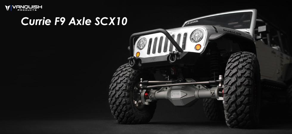 Currie F9 Axles SCX10