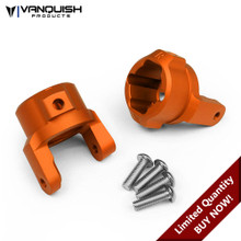 Axial SCX10 8 Degree C-Hubs Orange Anodized
