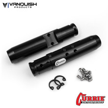 Currie SCX10 Rear Tubes Black Anodized