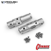 Currie SCX10 Front Tubes Clear Anodized