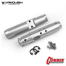 Currie SCX10 Rear Tubes Clear Anodized