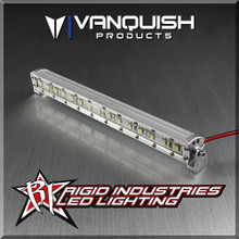 Rigid Industries 5in LED Light Bar Clear Anodized