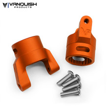 Axial Wraith / XR10 C-hubs Orange Anodized