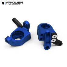 Axial Wraith Steering Knuckles Blue Anodized