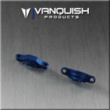 Axial OCP Axle Bearing Caps Blue Anodized