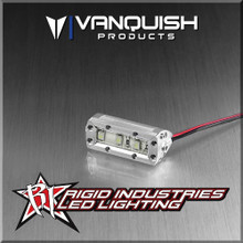 Rc accessories rigid led lights vanquish products rigid industries 1in led light bar clear anodized aloadofball Image collections
