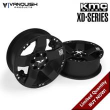 KMC XD775 Rockstars Black Anodized