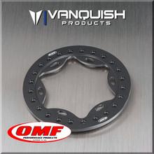 OMF 2.2 Scallop Beadlock Grey Anodized