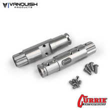 Currie XR10 Width Front Tubes Clear Anodized