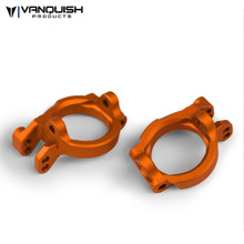 Yeti Front Caster Blocks Orange Anodized