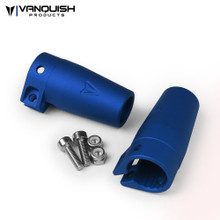 Axial Wraith / Yeti Clamping Lockouts Blue Anodized