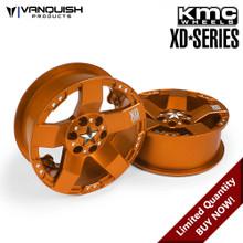 KMC XD775 Rockstars Orange Anodized