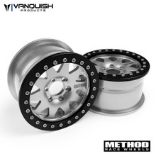 "Method 2.2 Race Wheel (1.2"" Wide) 101 Clear/Black Anodized"