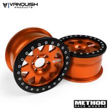 "Method 2.2 Race Wheel (1.2"" Wide) 101 Orange/Black Anodized"