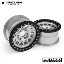 "Method 2.2 Race Wheel (1.2"" Wide) 105 Clear/Black Anodized"