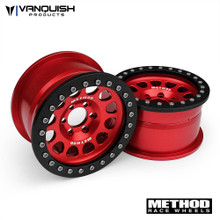 "Method 2.2 Race Wheel (1.2"" Wide) 105 Red/Black Anodized"