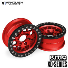 KMC 1.9 XD127 Bully Red Anodized