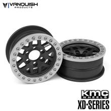 KMC 2.2 XD229 Machete Black Anodized