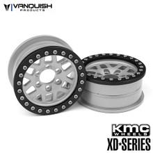 KMC 2.2 XD229 Machete Clear Anodized