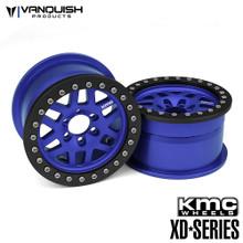 KMC 1.9 XD229 Machete Blue Anodized