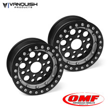 OMF 1.9 Outlaw II Wheel Set Black/Clear