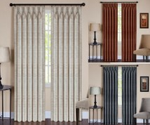 parker pinch pleated drapes