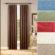 gabrielle insulated pinch pleated drapes