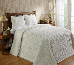 ... Trevor Cotton Bedspread Sets   Ivory ...