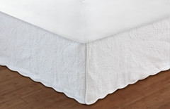 "Paisley Bedskirt Queen - 18"" DROP"