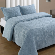 Ashton Bedspread Queen - Blue