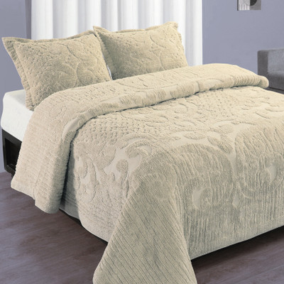 Ashton Bedspread Twin - Ivory