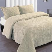 Ashton Bedspread Full - Ivory