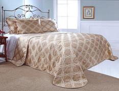 Belmont Bedspread Queen - NATURAL