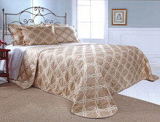 Belmont Bedspread King - NATURAL