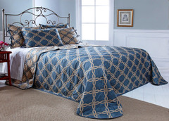 Belmont Bedspread Queen - HARBOR