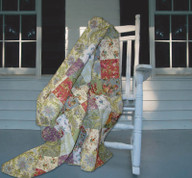 Blooming Prairie Throw Blanket