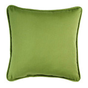 Cozumel Square Throw Pillow - Pear