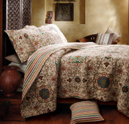 Esprit Spice Quilt Set King