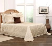 Gardenia Bedspread Queen - Beige