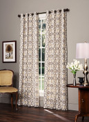 Izmir - Grommet Top Curtains Lined (pair)