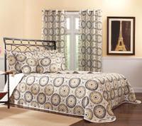 Melina Bedspreads - Charcoal