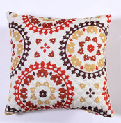 Melina Throw Pillow - Harvest
