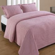 Natick Bedspread Twin - Rose