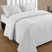 Natick Bedspread Twin - White