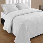 Natick Bedspread King - White