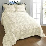 Rosa Bedspread King - Natural